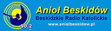 Anioł Beskidów logo patrona medialnego Książnicy Beskidzkiej